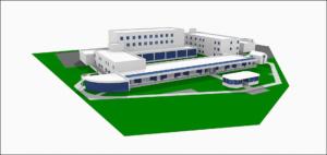 3D модель хосписа Дом Фрупполо